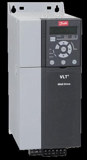 Преобразователь частоты VLT® Midi Drive FC 280
