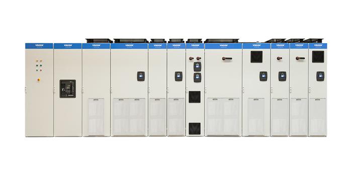 Преобразователь частоты VACON® NXP System Drive