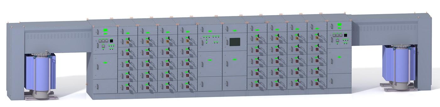 Распределительные устройства низкого напряжения AG Power 4